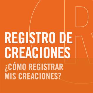 Registro especial de creaciones de diseño