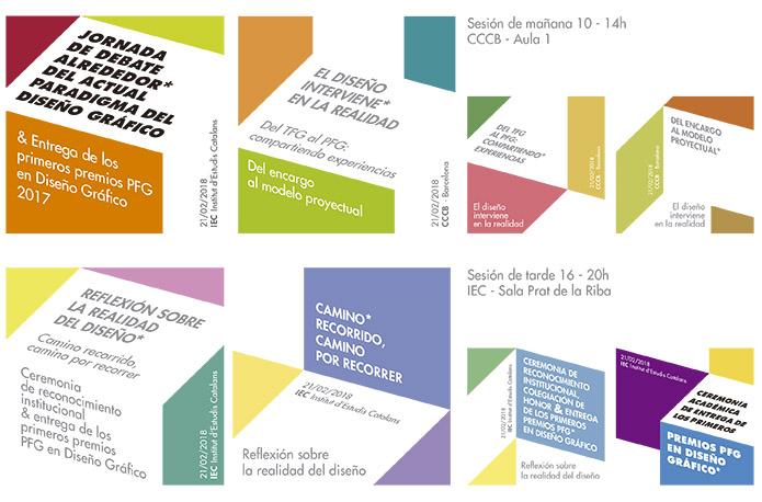 Entrega de los premios PFG en Diseño Gráfico