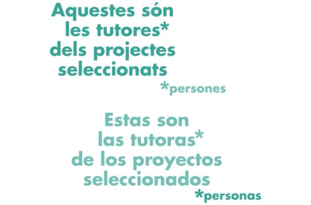 Tutores amb projectes seleccionats al Premi Projecte Fi de Grau