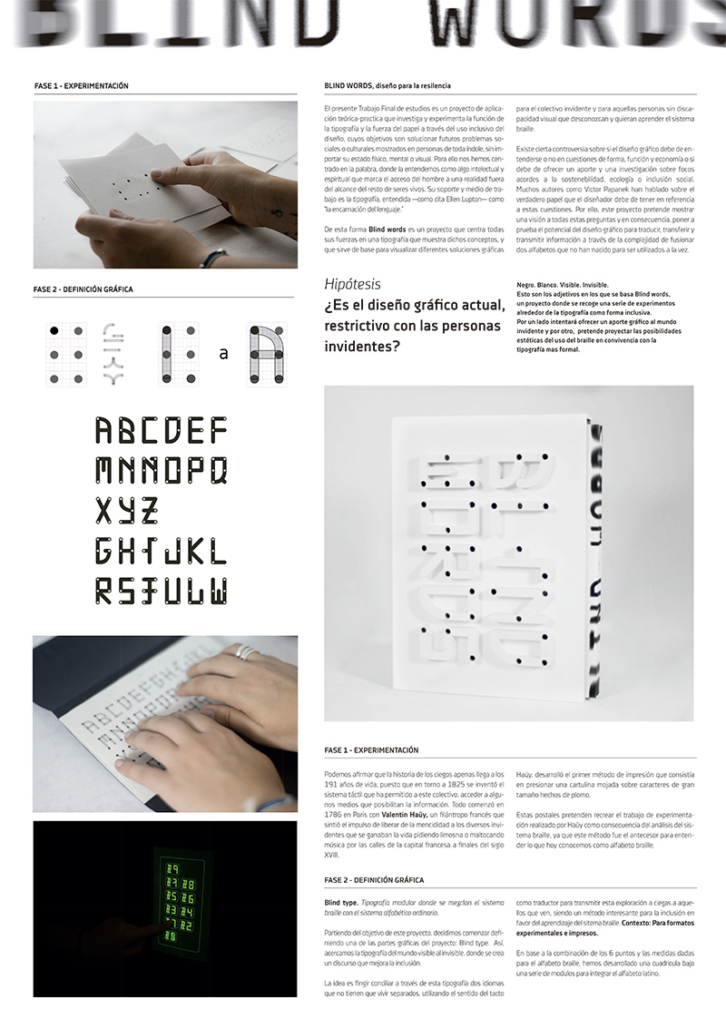 blind words - Nuria López Pérez