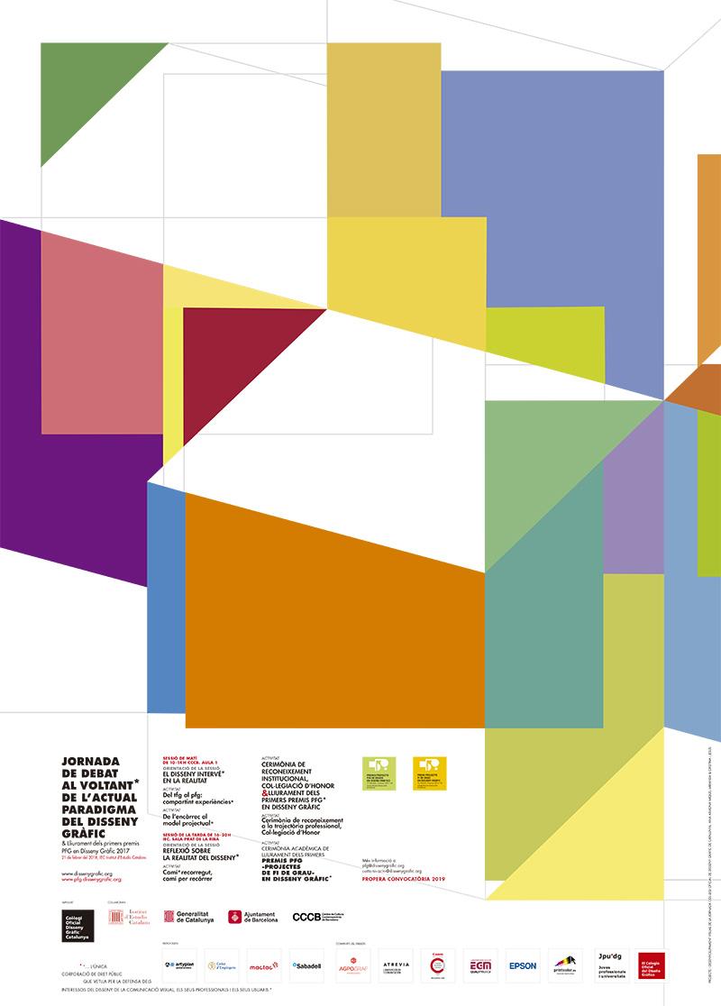 Cartell de Jornada i lliurament Premi gaudemusPROJECTA