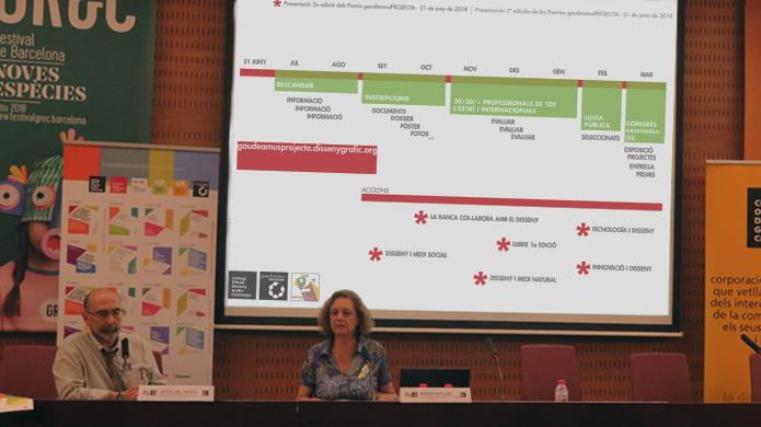 Magda Batlles, dissenyadora gràfica i membre permanent de la Comissió Executiva del Col·legi