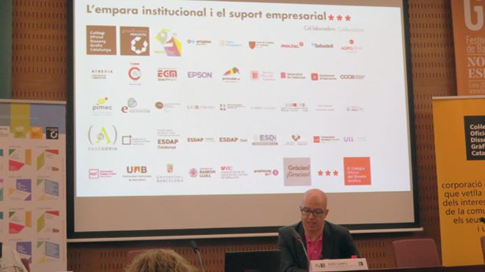 Jordi Camps, vocal de area vincle empresarial de la junta del Col·legi