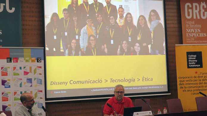 Francesc Morera, docent investigador en disseny gràfic