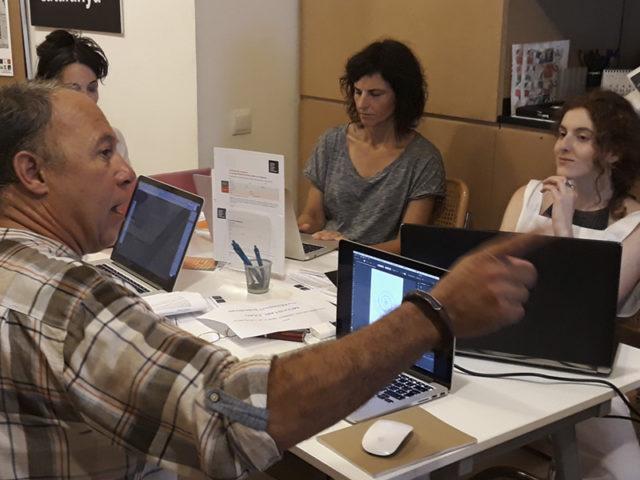 """Jordi Mascarell al taller """"Mockups digitals"""""""