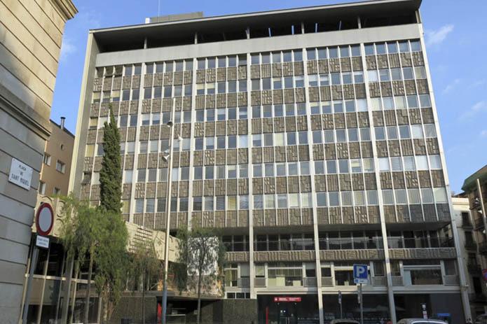 Ajuntament de Barcelona, seu plaça Sant Mique