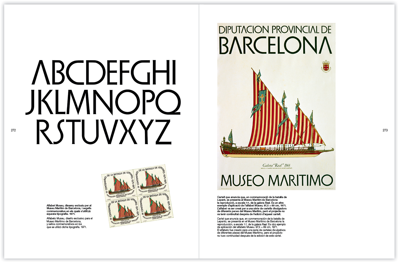 alfabet museu maritim bcn 1971 - huguet