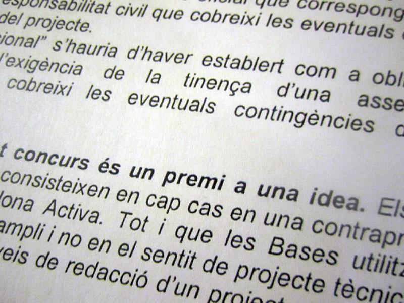 concurs d idea - el ajuntament de bcn ens dona la rao