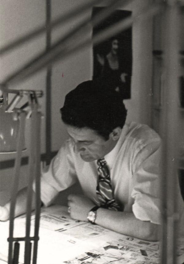 Hubert Weber aprox. any 1975