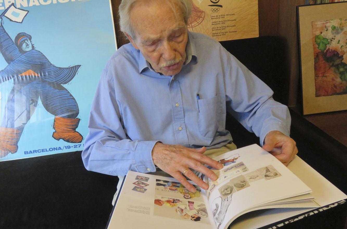 huguet i el seu llibre