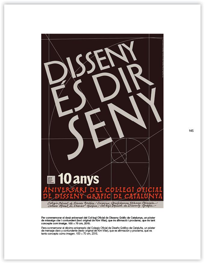 poster dese aniversari collegi 2015 -huguet
