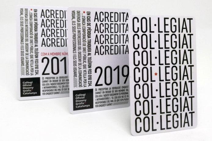 Carnets y certificados anuales de colegiación