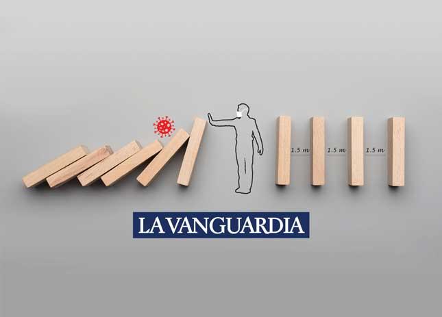 """""""Des de Les Trinxeres. Un dia menys, un disseny més"""" a premsa: La Vanguardia · Magazine Life"""