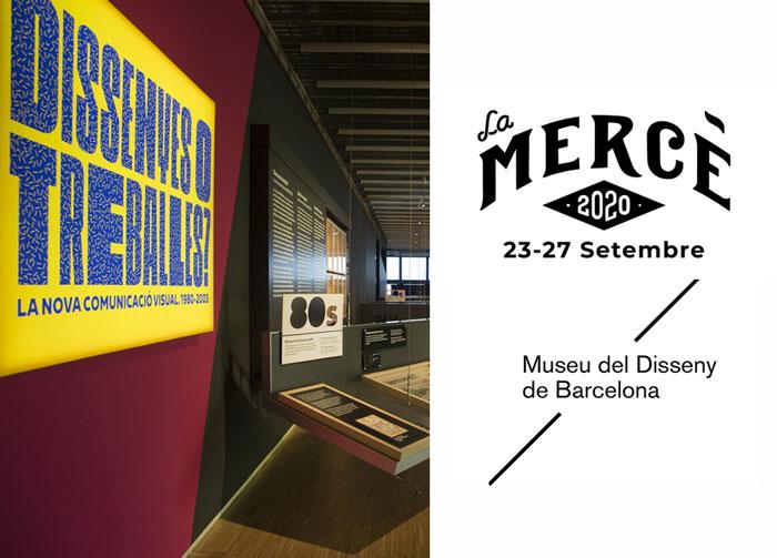 La Mercè 2020. Jornada de portes abiertas del Museu del Disseny de Barcelona