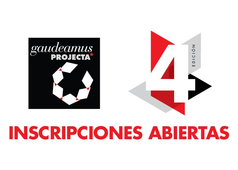 Call for Entries! 4ª edición de los Premios gaudeamusPROJECTA