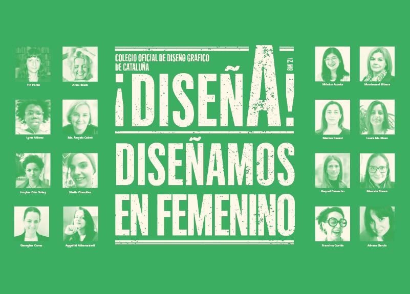 Jornada de empoderamiento: ¡Mujeres y Diseño ... cada día! Mesa redonda en directo, 8 de abril, a las 18h