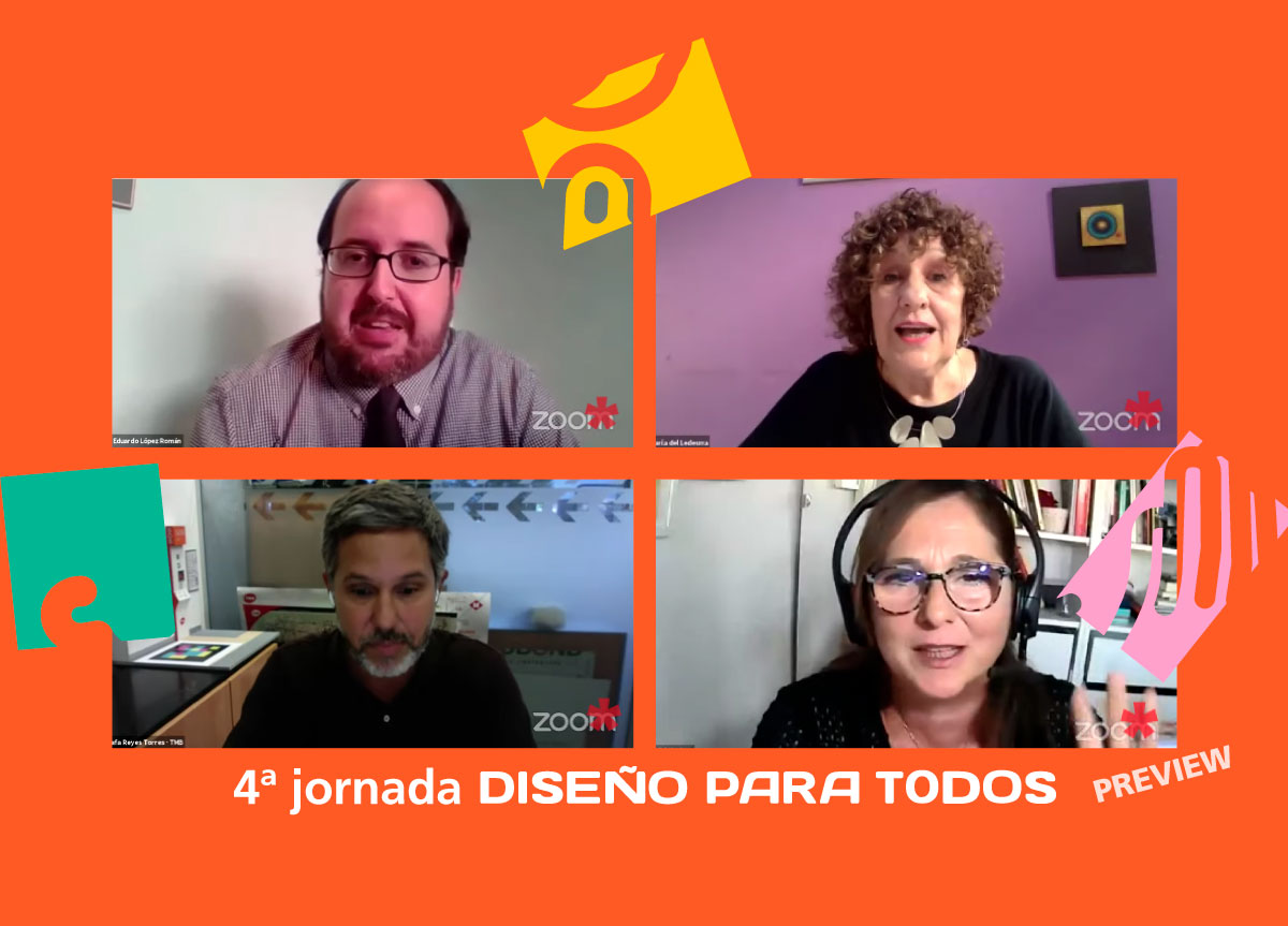 ÉXITO ROTUNDO EN LA 4ª JORNADA DE DISEÑO PARA TODOS